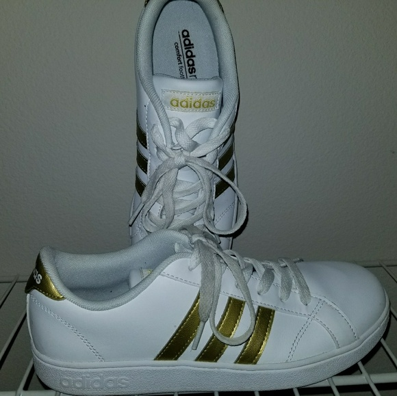 f5800438137 adidas Other - adidas NEO Baseline Kid s Shoes - Gold